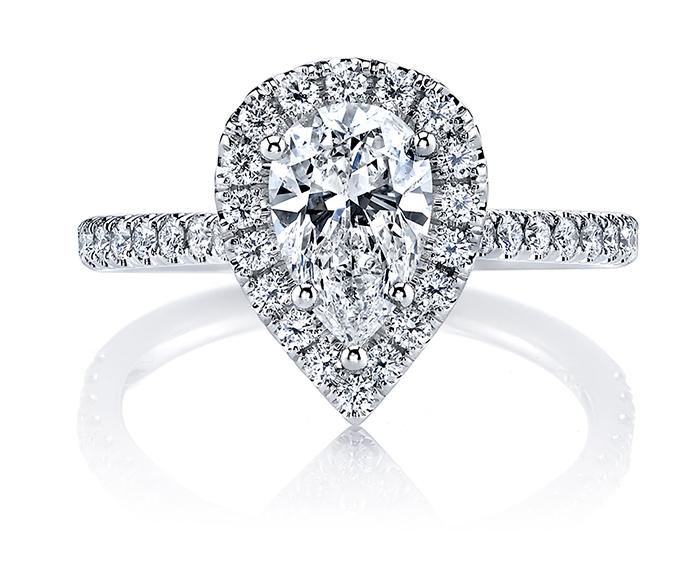 Pear Shaped Diamond-ARKA Designs